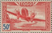 [Airmail - Aircraft over Landscape, type AO]