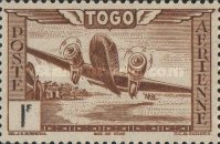 [Airmail - Aircraft over Landscape, type AO1]
