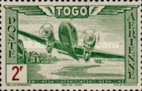 [Airmail - Aircraft over Landscape, type AO2]