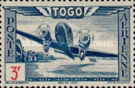 [Airmail - Aircraft over Landscape, type AO3]