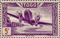 [Airmail - Aircraft over Landscape, type AO4]