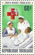 [Airmail - Red Cross in Togo, type AOR]