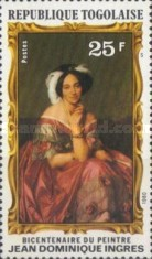 [The 200th Anniversary of the Death of Painter Jean Auguste Dominique Ingres, 1780-1867, type AOY]