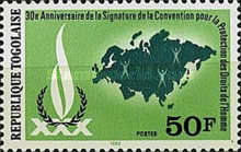 [The 30th Anniversary of the Signing of the Declaration of Human Rights, type APY]