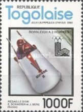 [Winter Olympic Games - Lake Placid, USA - Gold Medal Winners, type AQV]