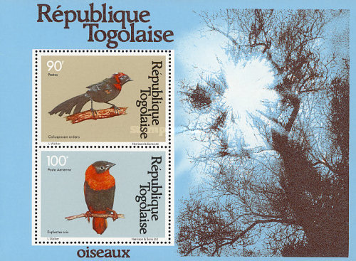[Airmail - Birds, type ARZ1]