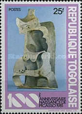 [The 100th Anniversary of the Birth of Pablo Picasso, 1881-1973 - Sculptures, type ASR]