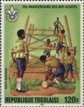 [Airmail - The 75th Anniversary of Boy Scout Movement, type ATW]