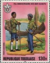 [Airmail - The 75th Anniversary of Boy Scout Movement, type ATX]