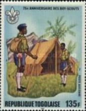 [Airmail - The 75th Anniversary of Boy Scout Movement, type ATY]