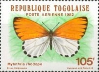 [Airmail - Butterflies, type AUQ]