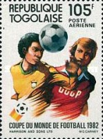 [Airmail - Football World Cup - Spain, type AUU]