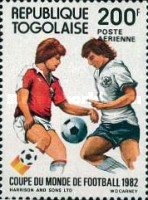 [Airmail - Football World Cup - Spain, type AUV]