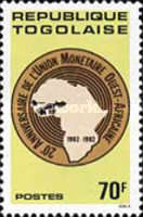 [The 20th Anniversary of West African Monetary Union, type AVA]