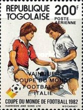 [Airmail - Football World Cup - Spain - Overprinted Results, type AVR]