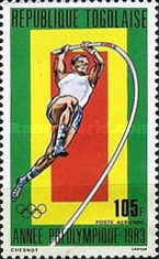[Airmail - Olympic Games - Los Angeles 1984, USA, type AWC]