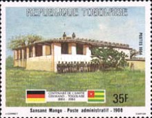 [The 100th Anniversary of Proclamation of German Protectorate, type AXG]