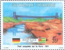[The 100th Anniversary of Proclamation of German Protectorate, type AXH]