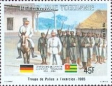 [The 100th Anniversary of Proclamation of German Protectorate, Typ AXM]