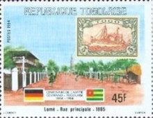 [The 100th Anniversary of Proclamation of German Protectorate, type AXN]