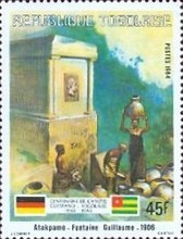 [The 100th Anniversary of Proclamation of German Protectorate, Typ AXQ]