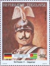 [The 100th Anniversary of Proclamation of German Protectorate, type AXV]