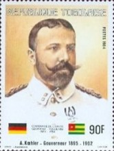 [The 100th Anniversary of Proclamation of German Protectorate, type AXZ]