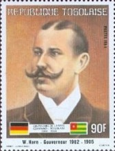 [The 100th Anniversary of Proclamation of German Protectorate, type AYA]