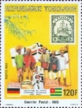 [The 100th Anniversary of Proclamation of German Protectorate, type AYF]