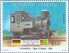 [The 100th Anniversary of Proclamation of German Protectorate, type AYI]