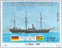[The 100th Anniversary of Proclamation of German Protectorate, type AYK]