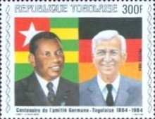 [The 100th Anniversary of Proclamation of German Protectorate, type AYM]