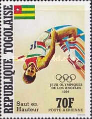 [Airmail - Olympic Games - Los Angeles, USA, type AZV]