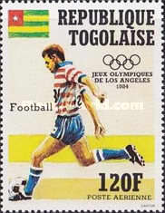 [Airmail - Olympic Games - Los Angeles, USA, type AZX]