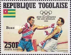 [Airmail - Olympic Games - Los Angeles, USA, type AZY]