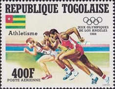 [Airmail - Olympic Games - Los Angeles, USA, type AZZ]