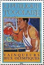 [Airmail - Olympic Medal Winners, Typ BBA]