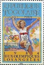 [Airmail - Olympic Medal Winners, type BBC]