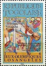[Airmail - Olympic Medal Winners, type BBD]