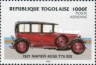 [Airmail - Automobiles, Typ BBV]