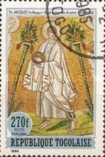 [Airmail - The Twelve Apostles - Scenes from the Bible, Typ BDB]
