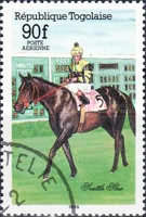 [Airmail - Racehorses, type BDL]
