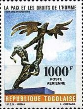 [Airmail - Peace and Human Rights, type BDT]