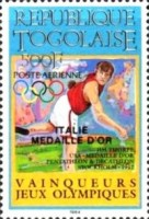 [Airmail - Medal Winners of Olympic Games - Los Angeles 1984, USA, type BFF]