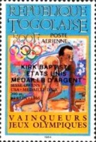 [Airmail - Medal Winners of Olympic Games - Los Angeles 1984, USA, type BFG]