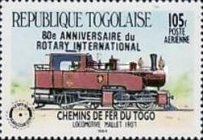 [Airmail - The 80th Anniversary of Rotary International, type BGD]