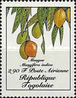 [Airmail - Fruits, type BHV]