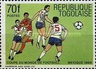 [Football World Cup - Mexico 1986, type BHW]