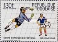 [Airmail - Football World Cup - Mexico 1986, type BHY]