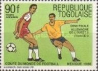 [Airmail - Final Tournament Games of Football World Cup in Mexico 1986, type BIT]